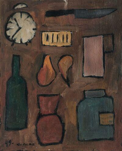 Gastón Olalde, 'Composición con elementos', 1949