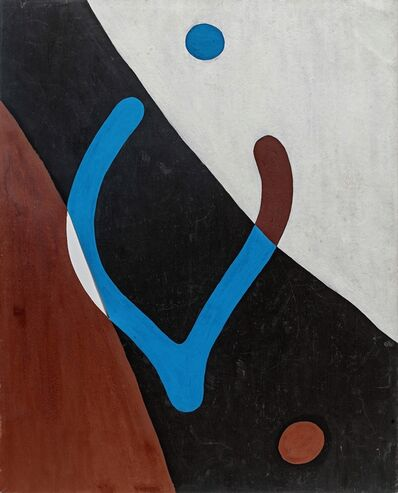 Hans Arp, 'Fronde et nombrils', 1926