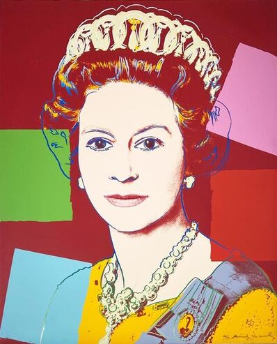 Andy Warhol, 'Queen Elizabeth II of United Kingdom II.334', 1985