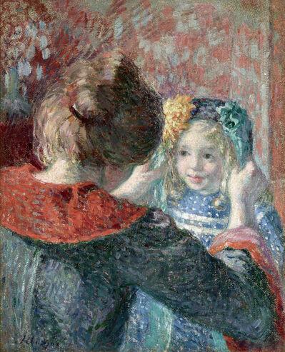 Henri Lebasque, 'Madame Lebasque et sa fille Marthe', 1898-1899