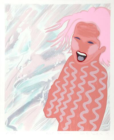 Kiki Kogelnik, 'Pink Swim', ca. 1980