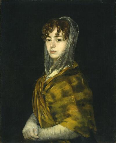 Francisco de Goya, 'Señora Sabasa Garcia', ca. 1806/1811