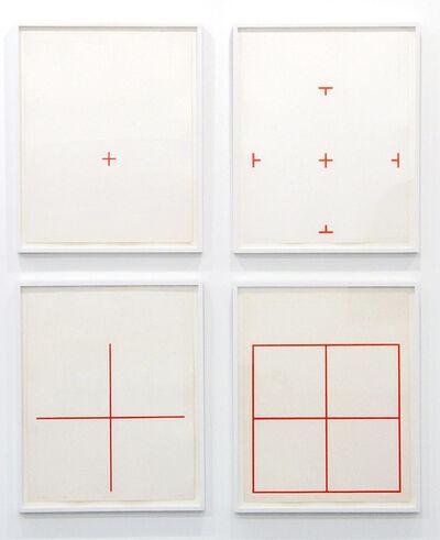 Stephen Antonakos, 'Four Squares', 1974