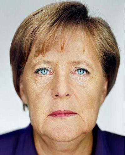 Martin Schoeller, 'Angela Merkel', 2009