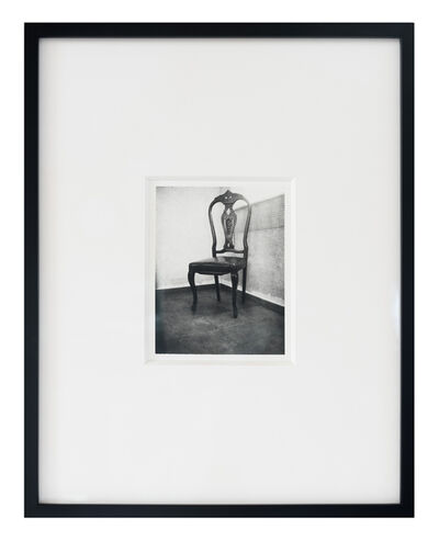 Patti Smith, 'Roberto Bolaño's Chair 3', 2010