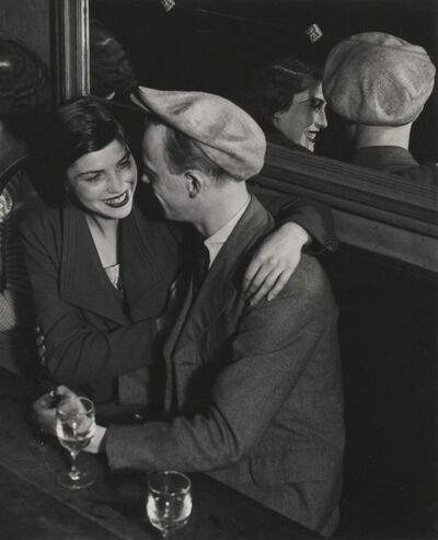 Brassaï, 'Couple at the Bal des Quatre Saisons, Rue de Lappe', 1933