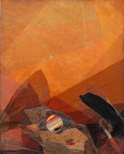 Roberto Crippa, 'Nascita del sole', 1971
