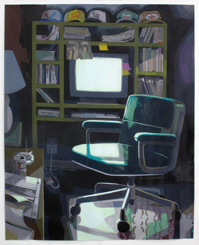Matt Bollinger, 'Dad's Home Office', 2016