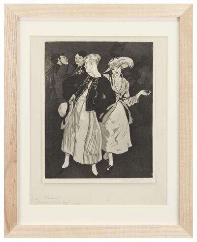 Dame Laura Knight DBE RA RWS, 'Circus, Bank Holliday', 1924