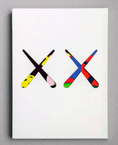 KAWS, 'KAWS cover art (Kaws illustrated Hypebeast 2016)', 2016