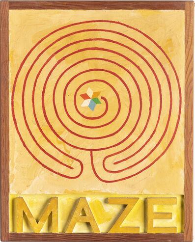 Joe Tilson, 'Asterios Maze', 1977