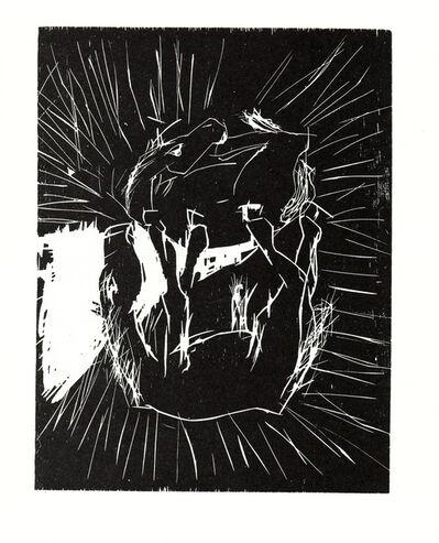 Georg Baselitz, 'Zwei Pferde (Two Horses)', 1988