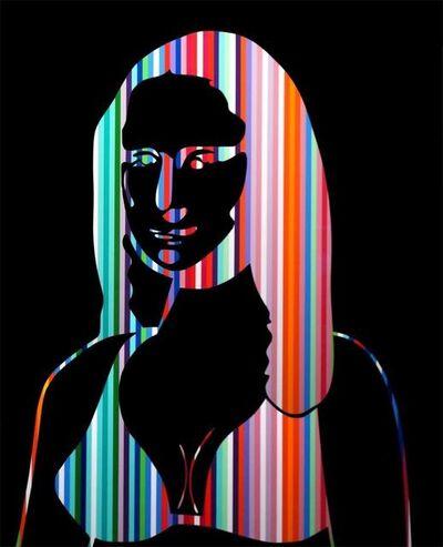 Neno Ramos, 'Mona Lisa Black Colors', 2014