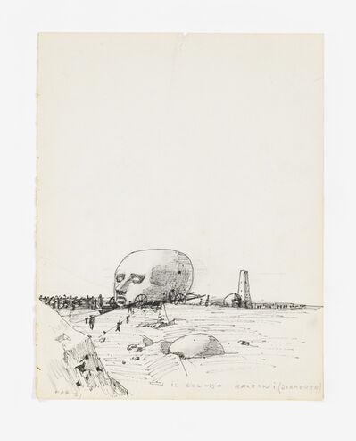 Gonzalo Fonseca, 'Il Colosso Belzoni (Dormente)', 1971