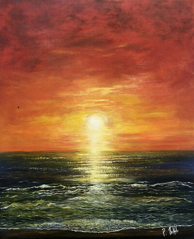 Patrick NEVOSO, 'Océan flamboyant', 2016