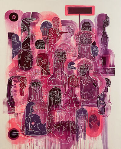 Doze Green, 'Untitled Pink Wash', 2019