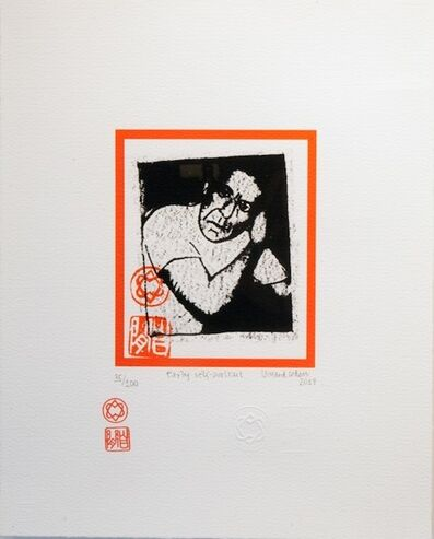 LEONARD COHEN, 'Early Self-Portrait ', 2014