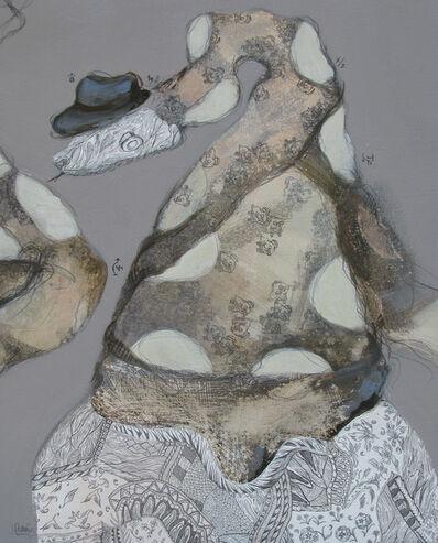 Irma Gutierrez, 'De lengua larga y convincente', 2019