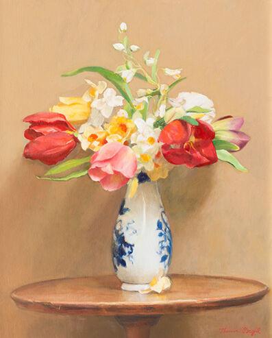 Theresa Pergal, 'Bouquet of Tulips in Deft Vase', 2015