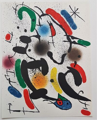 Joan Miró, 'Litografia Original VI', 1975