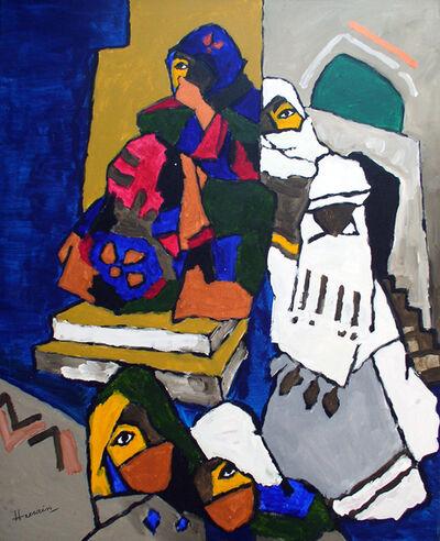 M. F. Husain, 'Women from Yemen', 2006