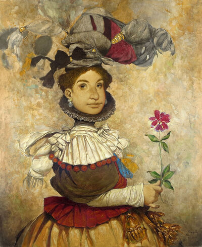 "Daron Mouradian, '""Portrait III"" / ""Portre III""', 2015"