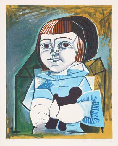 Pablo Picasso, 'Paloma en Bleu, 1952', 1979-1982