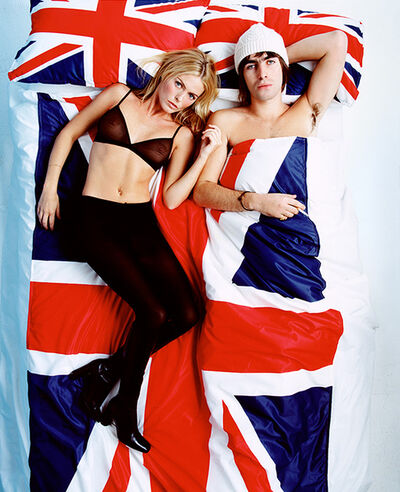 Lorenzo Agius, 'Liam Gallagher and Patsy Kensit', 1997
