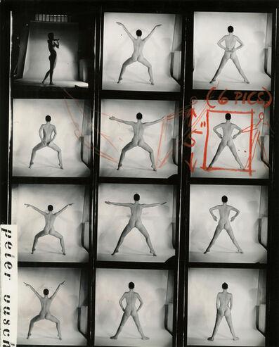 Peter Basch, 'untitled contact sheet (179 B)', ca. 1960