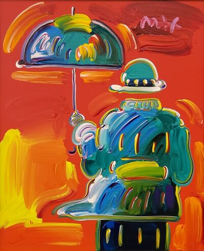 Peter Max, 'Umbrella Man on Blend ', 2014
