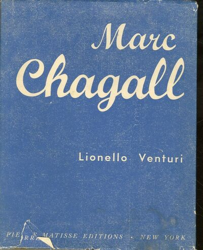 Marc Chagall, 'Lt. Ed. Monograph , HAND SIGNED & DEDICATED BY CHAGALL TO LITERARY CRITIC & FRENCH SCHOLAR PIERRE BRODIN ', 1945-1947