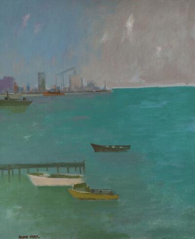 Herman Maril, 'The Harbor, Baltimore', 1980