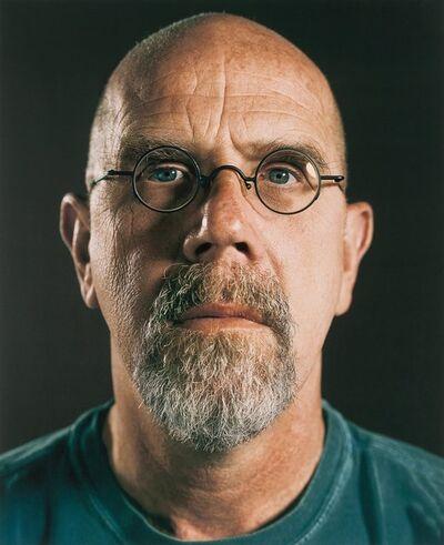 Chuck Close, 'Untitled (Self Portrait)', 2007
