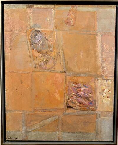 Pierre Lesieur, 'Composition rose', 1976