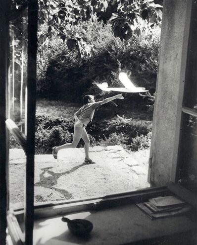 Willy Ronis, 'Vincent à Cordes pendant l'été 1952', 1952