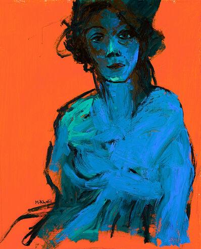 Mohamed Saleh Khalil, 'The Lady in Blue', 2018