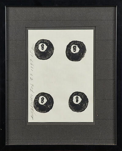 Donald Sultan, 'Eight Balls', 1997