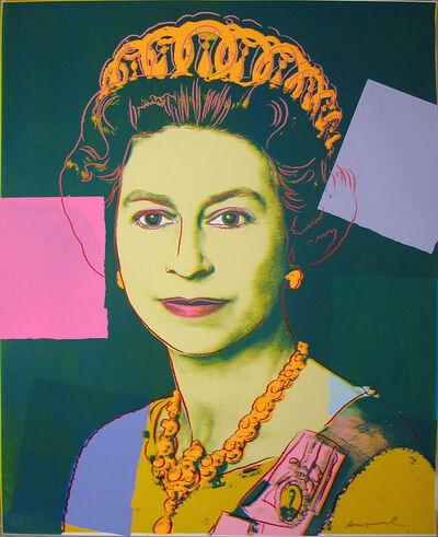 Andy Warhol, 'Reigning Queens: Queen Elizabeth', 1985