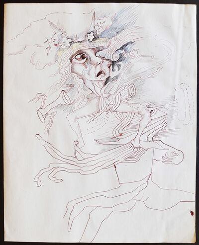 Helen Burkhart Mayfield, 'Untitled (Frantic)', ca. 1970
