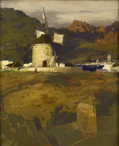 James Paterson (1854-1932), 'Windmill, Santa Cruz, Tenerife', 1902-1903