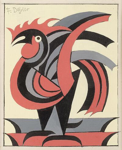 Fortunato Depero, 'Il gallo', 1952