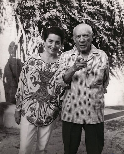 Brassaï, 'Jacqueline and Picasso', 1966/1966