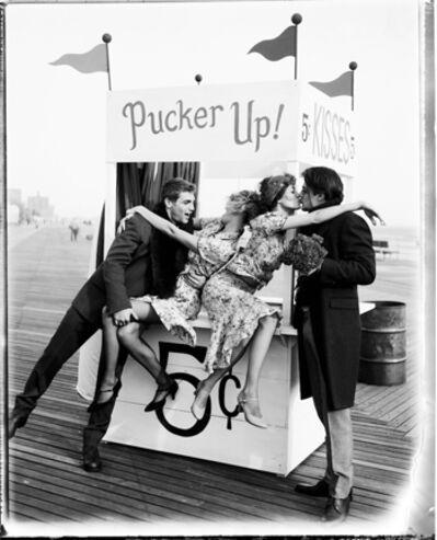 Ellen von Unwerth, 'Pucker Up!, New York', 2001