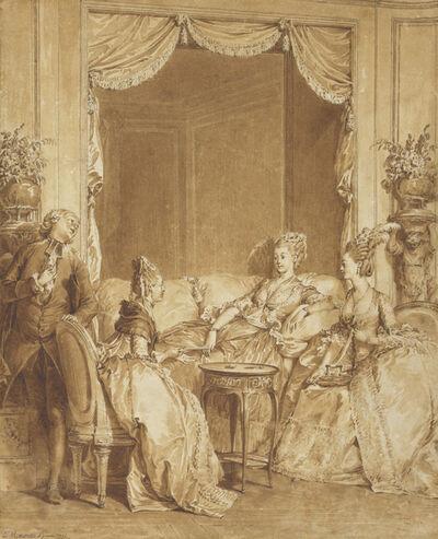 Jean-Michel Moreau, 'Have No Fear, My Good Friend', 1775