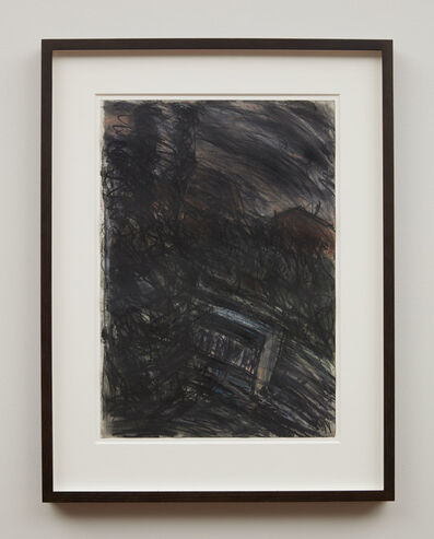 Leon Kossoff, 'Train by Night No.2', 1990