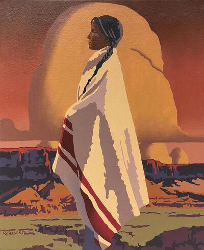 Billy Schenck, 'Study for Kanab'