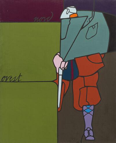 Valerio Adami, 'Nord Ovest', 1972