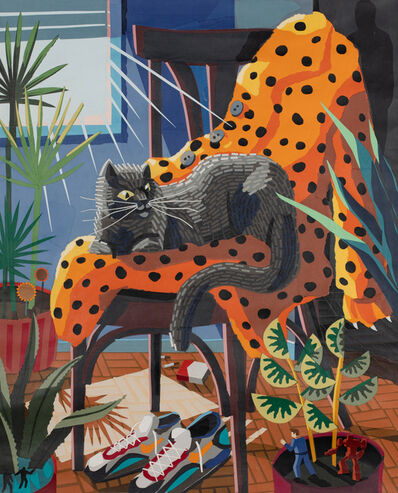 Franco Fasoli, 'Cat In Chair', 2019