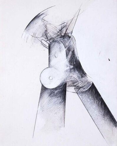 Jay DeFeo, 'Untitled (Tripod)', 1976