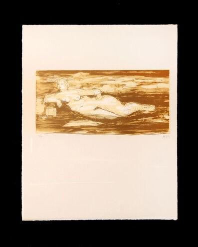Henry Moore, 'Femme Allongee', 1976